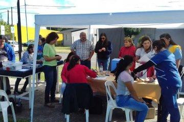 Se realiza un relevamiento socio sanitario y abordaje en barrio Lesca