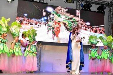 Coronaron a la nueva reina del Carnaval 2019