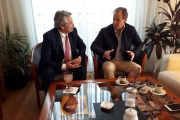 Gustavo Bordet respaldará la candidatura a presidente de Alberto Fernández