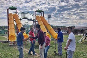 Otro barrio de Concordia tendrá su mangrullo de juegos en la plaza principal