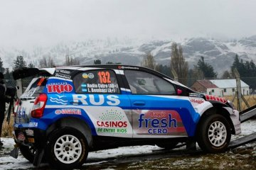 Concordienses compiten en el sur por el Rally Argentino