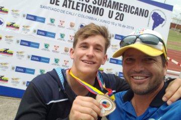 Guiado por un concordiense, logró la medalla de oro en el Sudamericano