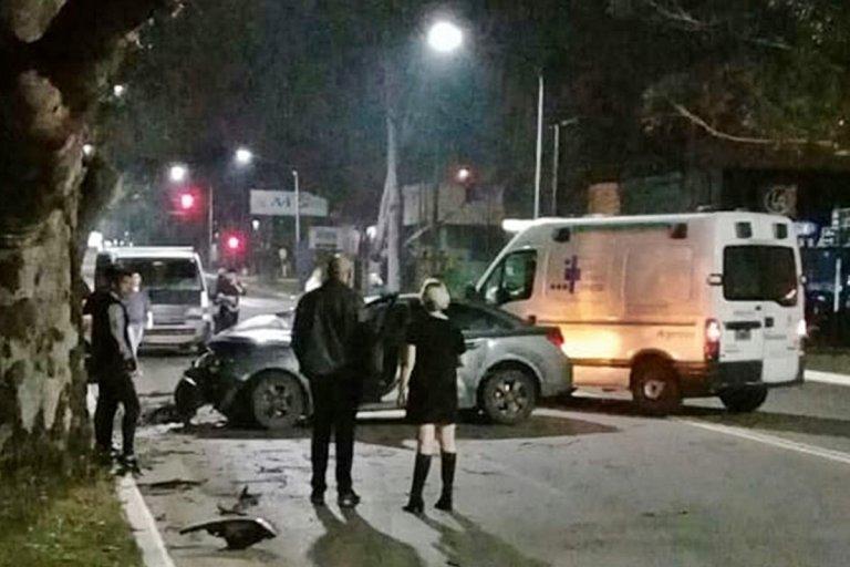 Hubo heridos entre los ocupantes de los dos autos