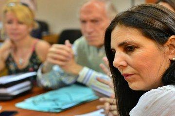 Lena prefirió no manifestarse ni a favor ni en contra de la reelección de De Angeli