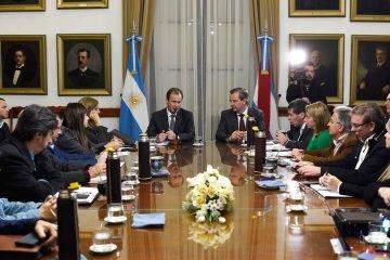 Bordet firmó un importante contrato de obra para Puerto Yeruá