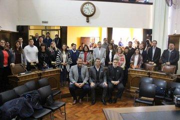 Los concejales electos participaron de una reunión de transición institucional