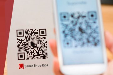Más de 1.200 comercios y profesionales se adhirieron al sistema de pagos QR del Banco Entre Ríos