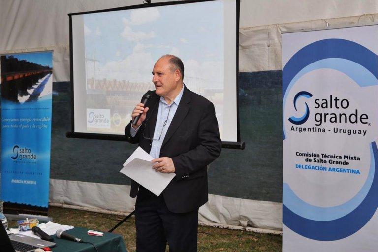 Roberto Niez, presidente de la Delegación Argentina en CTM