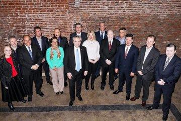 Bordet participó de un almuerzo con Alberto Fernández y otros gobernadores del PJ