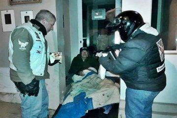 Cruzada solidaria de vecinos autoconvocados para combatir el frío