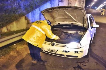 """Le secuestraron el auto por circular en ruta 14 con documentación """"trucha"""""""