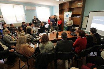 Presentaron los proyectos de rehabilitación de las rutas provinciales 1 y 2