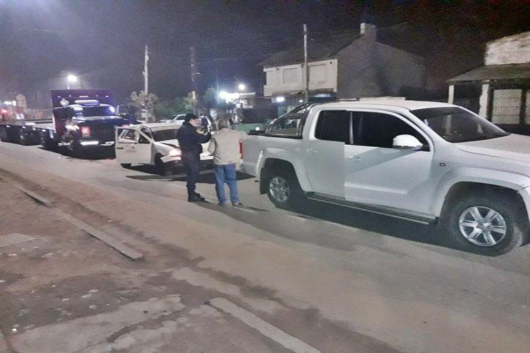 El impacto involucró a cuatro vehículos.