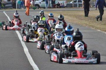 El Karting de Concordia corre el Gran Premio Coronación junto a la Fórmula Entrerriana