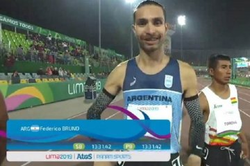 Federico Bruno tendrá su revancha en los Juegos Panamericanos