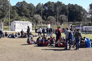 Primer Encuentro de fútbol del Programa Generación Positiva