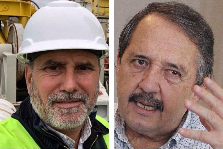 Mauro Vazón y Ricardo Alfonsin