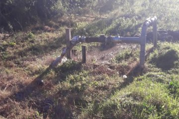 Vándalos provocaron roturas y daños en una bomba de agua