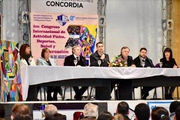 Concordia es sede del 3° Congreso Internacional de Actividad Física, Salud, Deportes y Recreación