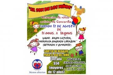 En el barrio Lesca los niños también festejarán el día del niño