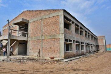 Difunden el estado actual de las obras en ejecución que presentan las escuelas de Concordia