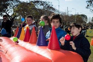 Cientos de niños celebraron su día en la Costanera de Concordia