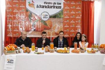 Presentaron oficialmente la III Fiesta Provincial de las Mandarinas