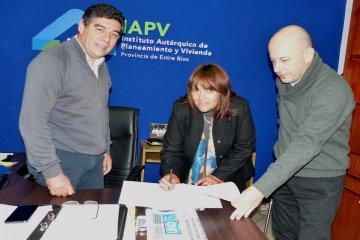 Se suman nuevas viviendas financiadas por provincia para el norte entrerriano