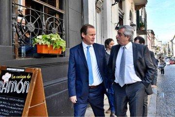 Bordet almorzó con Alberto Fernández, luego de la reunión con los gobernadores