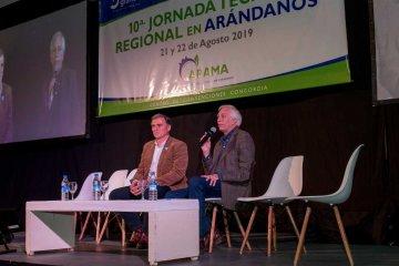 El sector arandanero se reunió en Concordia y pidió por la eliminación de las retenciones