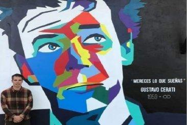 El impactante homenaje de un entrerriano a Gustavo Cerati