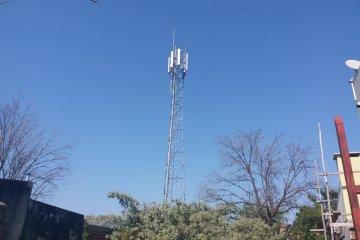 Otra antena de celulares fue levantada sin autorización correspondiente