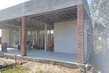 Construyen una zona de relax en el Parque Termal de Chajarí