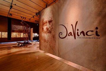 Una exposición llegó con material único a conmemorar los 500 años de la muerte de Da Vinci