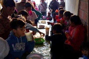 Piden colaboración para un comedor al que asisten más de 150 personas