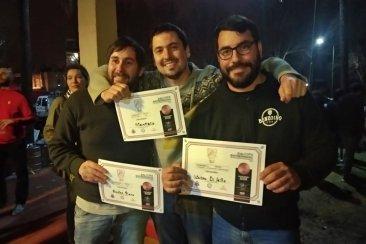 Tres cerveceros de Concordia ganaron una distinción en un torneo provincial