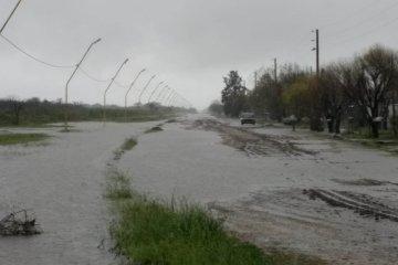 La provincia releva y atiende la situación de las zonas más afectadas por el temporal