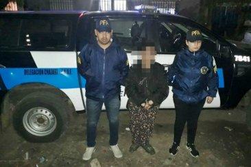 Detuvieron a una mujer que tenía pedido de captura desde Buenos Aires