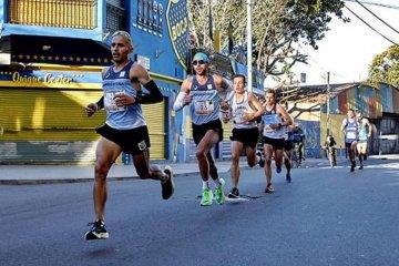 """""""Es sacrificado pero satisfactorio"""", remarcó Méndez tras el Maratón de Buenos Aires"""