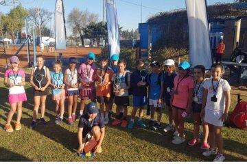 Concordienses se destacaron en el Nacional de Tenis