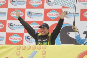 Primer podio para un concordiense en el Turismo Nacional