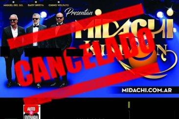 Midachi suspendió su espectáculo en Concordia