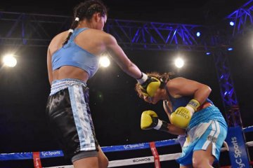 Victorias concordienses en la velada internacional de boxeo