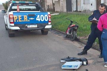 Dos motochorros robaron en un comercio pero no pudieron escapar