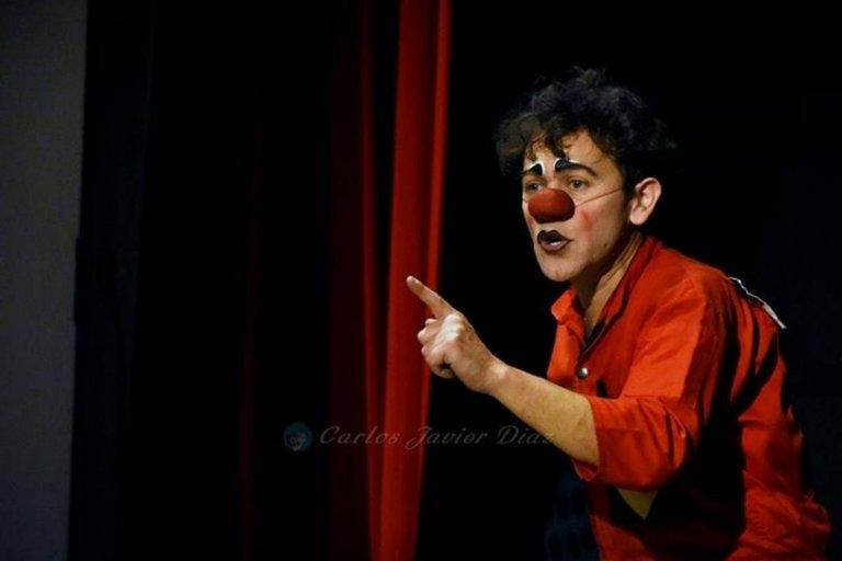 """El mimo clown chileno Cristian Fierro """"Chuma"""""""