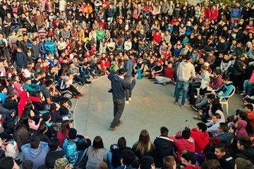 El freestyle se mete en las escuelas secundarias de Concordia