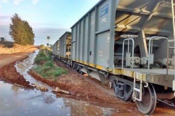 Descarriló una formación ferroviaria en la zona noroeste de Concordia
