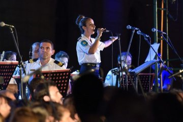 La Banda de Música de la Policía de Entre Ríos llega a Santa Ana por el aniversario