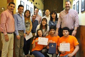 Reconocimiento para los alumnos de Técnica  N°2 que compitieron en la Copa Nacional de Robótica