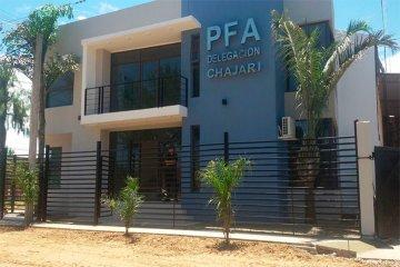 La PFA Delegación Chajarí viajó a prestar colaboración en el debate presidencial